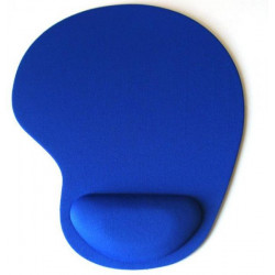 20cm 24cm Color Blue Hand Touch Mouse Pad With Gel Wrist Support