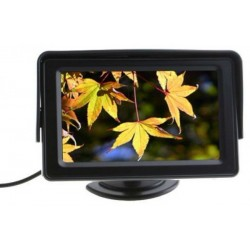 """4.3"""" Color LCD Car Rearview Monitor with LED blacklight for Camera DVD VCR"""