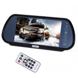 7 Inch Car Rear View Mirror Monitor TFT LCD Color Screen