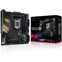ASUS ROG Strix Z490-G Gaming ‫(WiFi 6) Z490 LGA 1200 ‫(Intel 10th Gen) SFF Micro ATX Gaming Motherboard ‫(12Plus2 Power Stages, Intel 2.5 Gb Ethernet, Bluetooth v5.1 and Aura Sync)