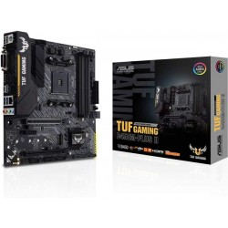 ASUS TUF Gaming B450M-PLUS II AMD AM4 Ryzen 5000, 3rd Gen Ryzen microATX Gaming Motherboard DDR4 4400