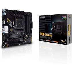 ASUS TUF Gaming B450M-PRO S AMD AM4 ‫(3rd Gen Ryzen Micro ATX Gaming Motherboard )8plus 2 Power Stages, 2.5Gb LAN, BIOS Flashback, AI Noise-Canceling Mic, USB 3.2 Gen 2 Type-A and Type-C, Aura Sync RGB)