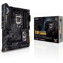 ASUS TUF Gaming H470-PRO WiFi 6 LGA1200 ‫(Intel 10th Gen) ATX Gaming Motherboard ‫(WiFi 6, Intel 1Gb LAN, Front Panel TypeC Connector, Addressable Gen 2 RGB Header and Aura Sync)