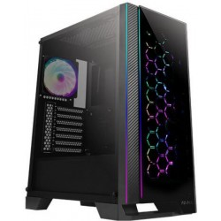 Antec Case NX 4X120m ARGB Fan TG Side Panel Mid Tower ATX Gaming