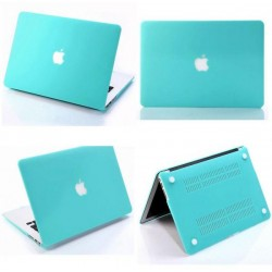 Anti-Scratch Rubberized Matte Hard Case Cover for Apple MacBook Pro 13 Inch NEW Touch Bar 2016 2017 Model 1706 1708 Tiffany color