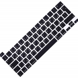 Arabic Keyboard Cover for MacBook Pro Touch Bar Model ‫( A2289 - A2251 - A2338 - A2141 ) - ‫( 13 - 16 inches ) UK