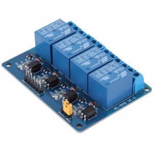 Arduino, Raspberry 5v 4 Channel Relay Module With Optocoupler