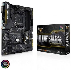 Asus TUF B450-Plus Gaming AM4 AMD B450 SATA 6Gb USB 3.1 HDMI ATX AMD Motherboard