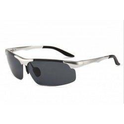 European and American trend frameless aluminum-magnesium alloy riding cool sunglasses