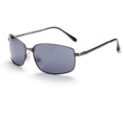 Gray fashion trend metal frame sunglasses men's tourist driving mirror