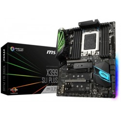 MSI X399 SLI PLUS AMD TR4 DDR4 X399 RGB MOTHERBOARD