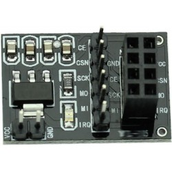 NRF24L01 Socket Adapter Plate Board for Arduino