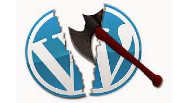 البحث عن مواقع مصابه WordPress