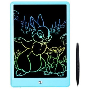 10 inch LCD Writing Tablet , Drawing Tablet for Kids, Colorful Screen Doodle Board and Kids Drawing Pad for Ages 2plus