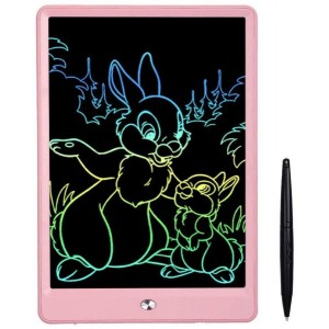 10 inch LCD Writing Tablet, Drawing Tablet for Kids, Colorful Screen Doodle Board and Kids Drawing Pad for Ages 2plus