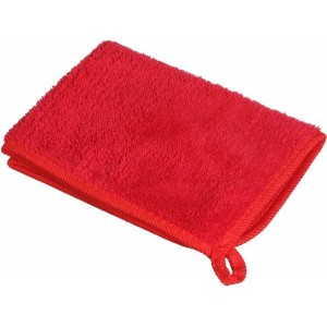 Car Cleaning Fabric Towel - Red
