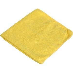 Car Cleaning Fabric Towel - Yellow