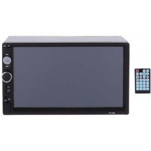 Car Touch Screen with Remote Control, SD Card Port, USB Port, FM and Bluetooth - 7 Inches