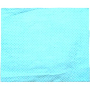 City Up Deer Leather Towel - Baby Blue