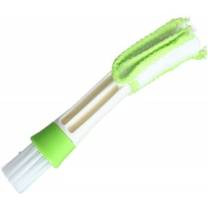 Cleaning Brush for Air Conditioner - White and Green