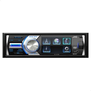 JVC KDAV300 CD and USB Car Stereo with AUX and Remote Control
