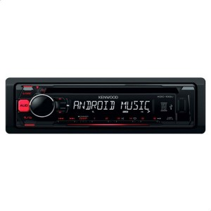 Kenwood KDC100UR CD and USB Car Stereo with AUX
