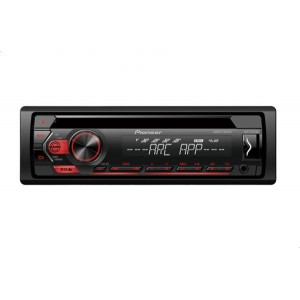 Pioneer DEH-S1252UB Car Audio Player with USB and AUX Ports