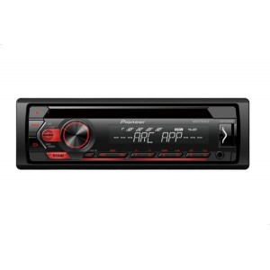 Pioneer DEH-S1253UB Car Audio Player with USB and AUX Ports