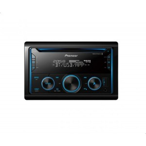 Pioneer FH-S525BT Car Bluetooth Audio Player with USB and AUX Ports